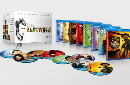 Clint Eastwood   8 Filme Blu ray Collection für 16,55€