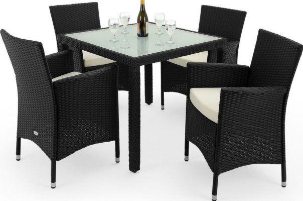 Deuba Poly Rattan Sitzgruppe für 179,96€ (statt 225€)