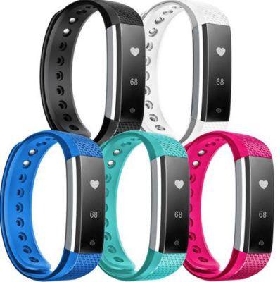 Top! Ninetec Smartfit F3HR Herzfrequenz & Fitnesstracker für 19,99€ (statt 41€) + 3 gratis Armbänder