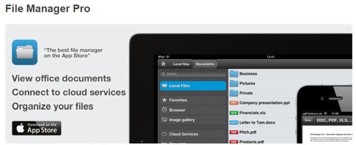 File Manager Pro (iOS) gratis statt 4,99€