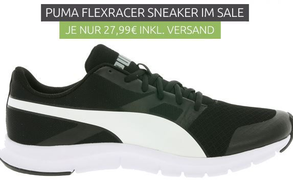 Puma Flexracer Herren Sneaker für 27,99€