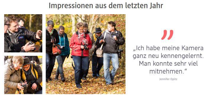 DM Fotografie Werkstatt 2017 – kostenloser Foto Workshop für Anfänger