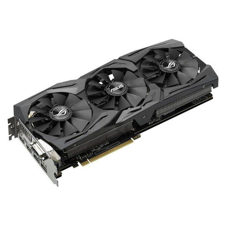 10% Rabatt auf ausgewählte Asus Grafikkarten   z.B. ASUS ROG Strix GeForce GTX 1060 OC für 296,10€ (statt 327€)