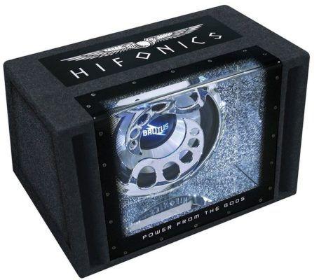 HIFONICS BXI12BP Single Kfz. Gehäusesubwoofer statt 217€ für nur 156,98€