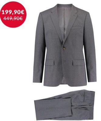 TOP! Tommy Hilfiger Butch Rhames   grauer Herren Anzug für nur 194,99€