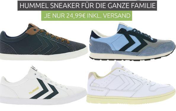 Hummel Sneaker Sale für die ganze Familie ab 24,99€