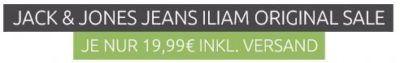 JACK & JONES ILIAM ORIGINAL Herren Jeans für nur 19,99€ (statt 43€)