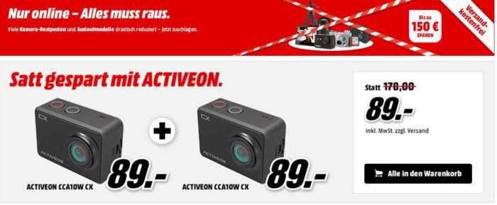 Media Markt: Kamera und Foto Restposten Aktion   günstige Action Kameras & Co.
