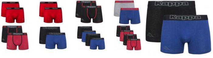 Kappa   kleiner Unterwäsche Sale  2er Pack Boxershorts schon ab 3,99€