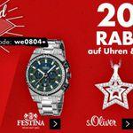 Karstadt Kracher mit z.B. 20% auf Düfte, Festina Uhren, Fitnessbekleidung und mehr