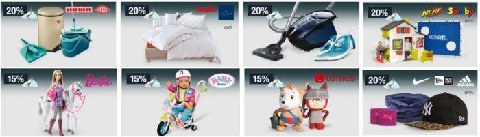 20% Rabatt auf Outdoorspielzeug von Smoby, Nerf   Sportcaps und Accessoires uvam.   Galeria Kaufhof Mondschein Angebote