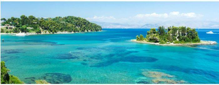 Insel Korfu   8 Tage Hotel inkl. Flug ab 289€ p.P.