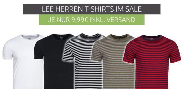 Viele Lee Herren T Shirts ab je 9,99€ (statt 15€)