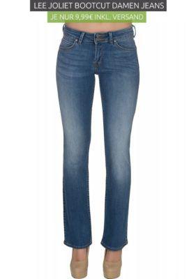 Lee Joliet Bootcut Damen Jeans   Restgrößen statt 50€ für 9,99€