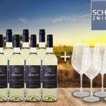 8 Flaschen Niedermann – Müller-Thurgau Weißwein +  4 Weingläser von Schott Zwiesel für nur 44,94€