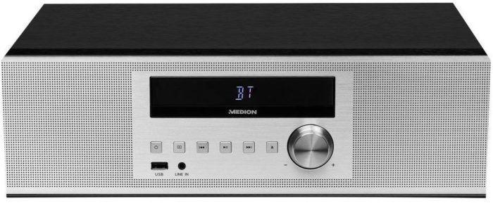 Medion P64301 MD Mikro CD MP3 Kompaktanlage mit USB und Bluetooth für 49,95€ (statt 90€)