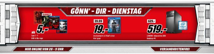 ASUS GeForce GTX 1060 Dual 6GB für 255€ + viele weitere Deals im Media Markt Dienstag Sale