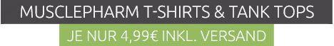 Musclepharm Herren Shirts oder Tanktops für je 4,99€