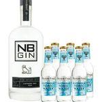 NB GIN Tonic Set inkl. 6x Fever Tree Mediterranean für nur 39,90€ (statt 54€)