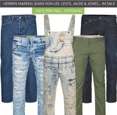 Herren Jeans & Hosen Ausverkauf bei Outlet46   z.B.  Lee Hosen schon ab 9,99€