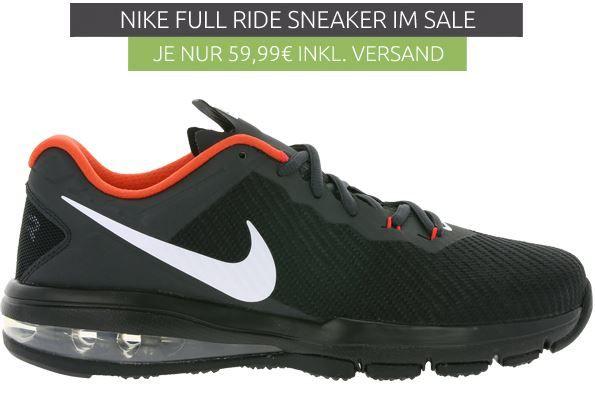 Nike MAX FULL RIDE   Herren Laufschuh für 59,99€ (statt 75€)