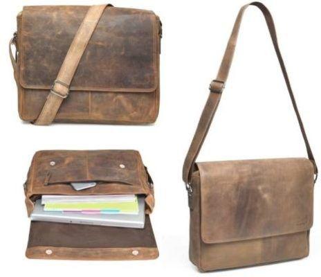 Packenger Vethorn Rinderleder Umhängetaschen mit Notebook Fach für nur 99,90€ (statt 149€)