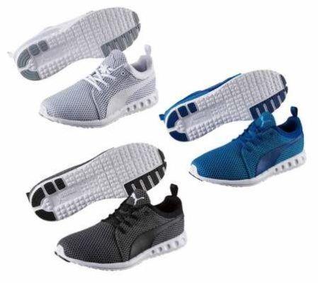 Puma Carson Knitted   Unisex Sneaker bis 48,5 für je Paar 39,99€