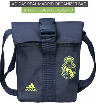 adidas Performance Real Madrid   Mini Organiser Umhängetasche statt 21€ für nur 9,99€