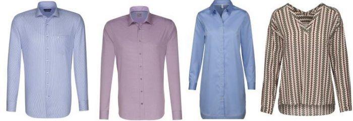 Seidensticker   30% Rabatt auf ausgewählte Damen und Herren Fashion   günstige Hemden, Blusen und Accessoires