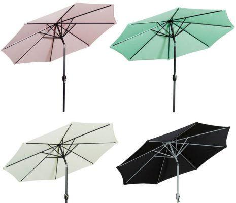 Gartenfreunde Sonnenschirm ∅ 270cm für 49,99€