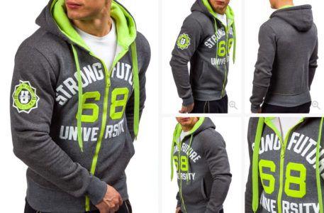 Stegol, J.Style, P&L Fashion   Herren Motiv Hoodies für je 14,95€