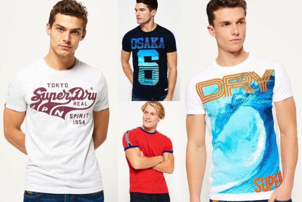 Superdry   Herren T Shirts neue Modelle für je 13,95€