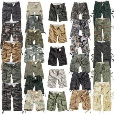 SURPLUS Airborne Vintage Herren Cargo Hosen für je 27,90€