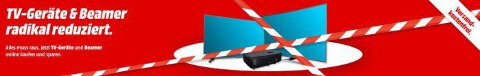 Media Markt: TV Geräte und & Beamer radikal reduziert   z.B. Samsung UE43KS7590 43 Zoll Curved UHD TV für 899€