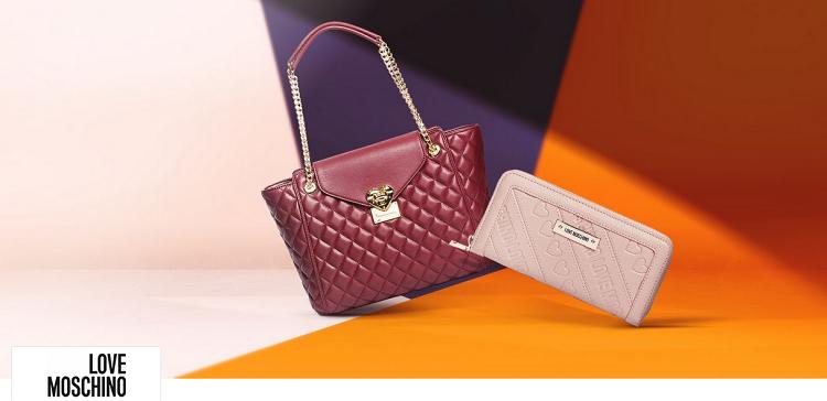 Love Moschino Sale mit bis zu 55% Rabatt bei Vente Privee   u.A. Handtaschen, Portemonnaies und Rucksäcke
