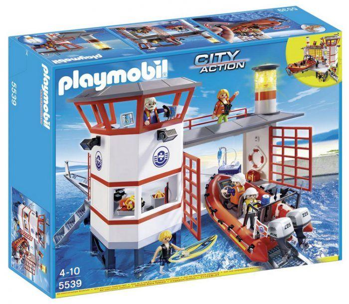 Playmobil Küstenwachstation mit Leuchtturm (5539) für 33€ statt 55€