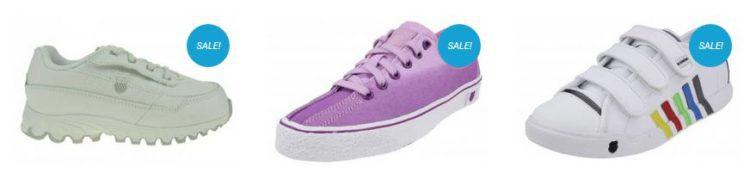 K Swiss Sale bei sneakerprofi.de mit Sneakern ab 9,99€ + 10% Gutschein   z.B. K SWISS Clean Laguna VNZ für 12,56€ (statt 20€)
