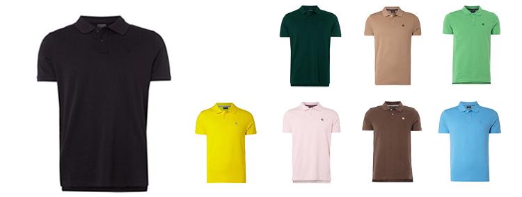 Mcneal Poloshirts   verschiedene Farben mit Logo Stickerei für 8,99€