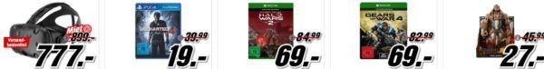 Star Wars Steelbook für 10€   Uncharted 4: A Thiefs End [PS4] für 19€   im Media Markt Dienstag Sale