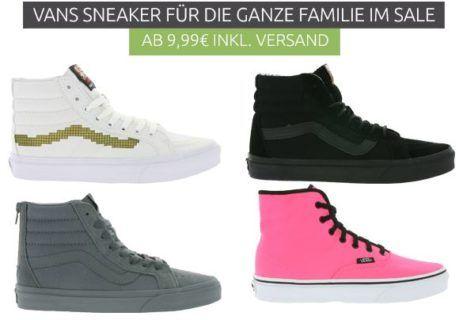 Vans Sneaker   für Damen und Herren Restgrößen ab 19,99€