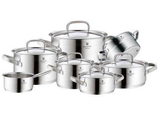 WMF Gourmet Plus   7 teil. Cromargan Topf Set für 252,99€