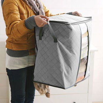 Faltbarer Aufbewahrungssack (120L) für Kleidung & mehr für 2,22€