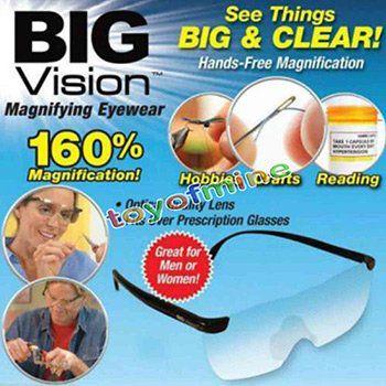 Big Vision Brille   Vergrößerungsbrille für 3,45€