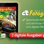 2 Ausgaben c't Digitale Fotografie (ePaper) gratis – Kündigung notwendig