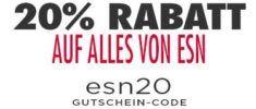 Heute: Fitmart mit 20% Rabatt auf alle ESN Proteine   z.B. Designer Whey ab 14,32€/kg