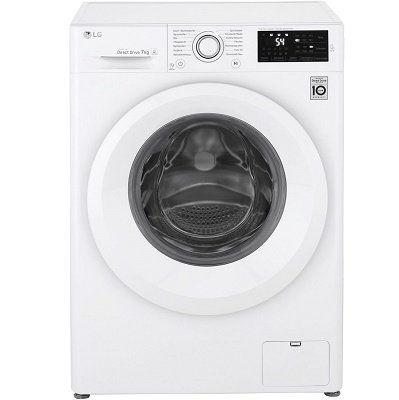 LG F 14WM 7LN0   Waschmaschine mit 7 kg Nutzinhalt, 1400 U/Min für 299€ (statt 394€)