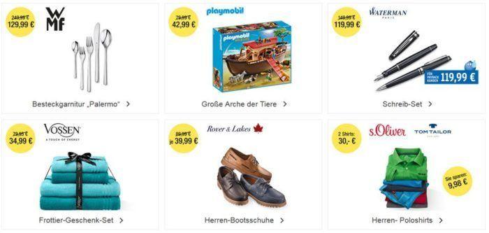Galeria Kaufhof 6 Tage Rennen mit bis zu 15€ Rabatt: Heute z.B. Playmobil Große Arche der Tiere statt 56€ für nur 42,99 €
