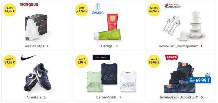 Galeria Kaufhof 6 Tage Rennen mit bis zu 15€ Rabatt: Heute z.B. NIKE Sneakers für nur 39,99€
