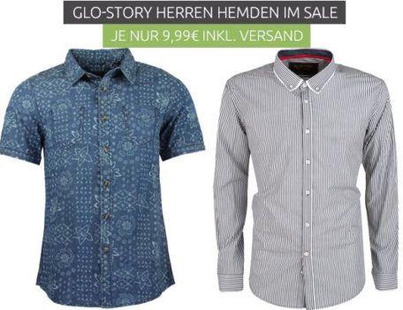 Glo Story Herren Langarm Hemden für je 9,99€ und Poloshirts für 7,99€