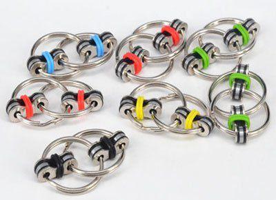 Fidget Ring in 5 versch. Farben für je 1,68€